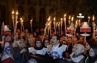 Memur-Sen Dünya Kadınlar Gününde Suriyeli Mahpus...