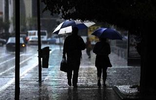 Meteorolojiden Peş Peşe Kuvvetli Yağış Uyarısı