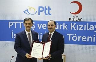PTT ve Türk Kızılay Arasında PTT Pul Müzesi'nde...
