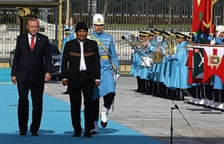 Bolivya Devlet Başkanı Juan Evo Morales Ayma'yı...