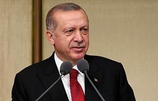 Cumhurbaşkanı Erdoğan'dan 1 Mayıs Emek ve...