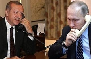 Cumhurbaşkanı Erdoğan, Putin İle Telefonda Görüşmesi...