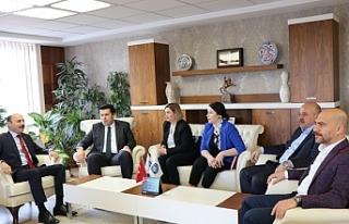 Makedonya Devlet Bakanı Elvin Hasan, Türk Eğitim...