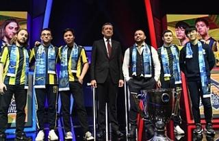 Milli Eğitim Bakanı Ziya Selçuk, E-Spor Finaline...