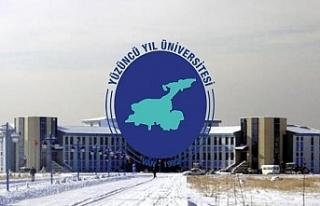 Van Yüzüncü Yıl Üniversitesine 5 Öğretim Görevlisi...