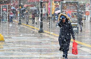 Yurtta Pek Çok Kentte Soğuk Hava ve Kar Yağışı...