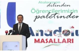 Milli Eğitim Bakanı Selçuk, Anadolu Masalları...