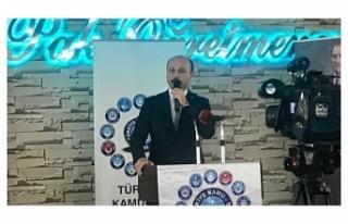 Genel Başkan: TBMM Tatile Girmeden Ek Gösterge Düzenlemesi...