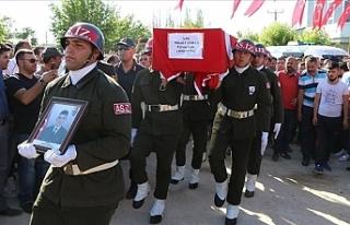Şehit Uzman Onbaşı Mikail Candan Son Yolculuğuna...