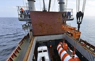 Rus Su Altı Araştırma Gemisinde Çıkan Yangında...