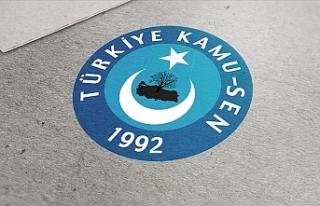 Türkiye Kamu-Sen'in Toplu Sözleşme Talebi...