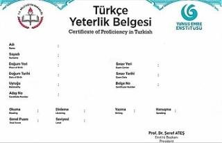 Yunus Emre Enstitüsü TYS: YEE Türkçe Yeterlik...