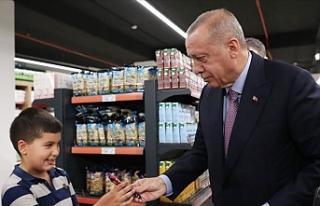 Cumhurbaşkanı Erdoğan, Kısıklı'daki Tarım...