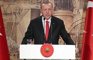 Cumhurbaşkanı Erdoğan'dan 29 Ekim Mesajı...