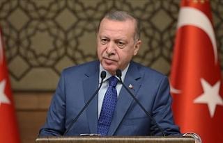 Cumhurbaşkanı Erdoğan'dan Fransa'da Yayımlanan...