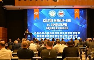 Kültür Memur-Sen'in 14. Genişletilmiş Başkanlar...