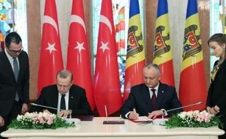 Türkiye İle Moldova Arasında Ortaklık Anlaşması Sağlandı