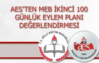AES'ten MEB İkinci 100 Günlük Eylem Planı Değerlendirmesi