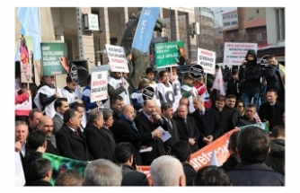 Türk Eğitim-Sen Sözleşmeli Öğretmenler İle Birlikte Eylem Yaptı