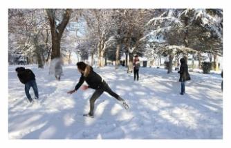 Türkiye' nin Farklı İl ve İlçelerinde Eğitime Kar Tatili Uygulamaları Yapılıyor