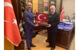 Talip Geylan'dan MHP Genel Başkanı Devlet Bahçeli'ye Tebrik Ziyareti
