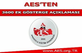 AES'ten 3600 Ek Gösterge Açıklaması