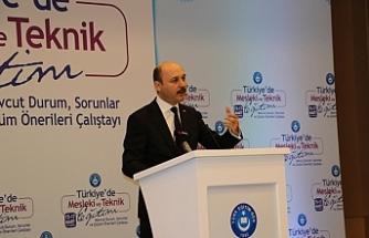 Türk Eğitim Sen Mesleki ve Teknik Eğitim Çalıştayı Başladı