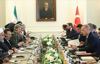 Cumhurbaşkanı Erdoğan İle Ruhani Görüşmesi Sona Erdi