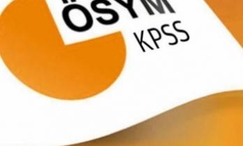 2018 KPSS Lisans Sınavı Giriş Belgeleri açıklandı