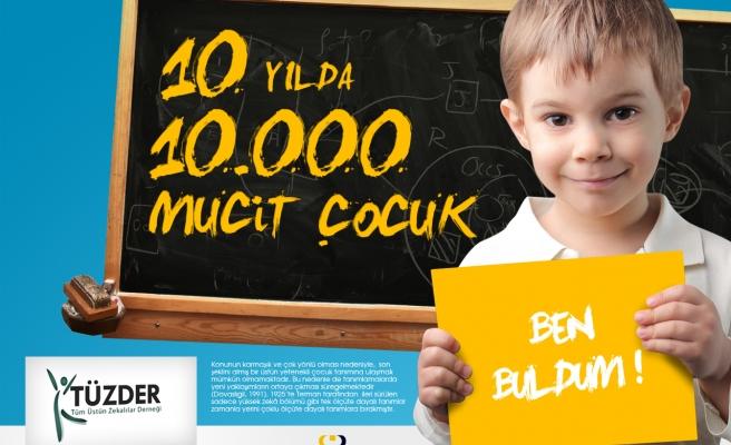 TÜZDER 10 YILDA 10000 MUCİT YETİŞTİRECEK