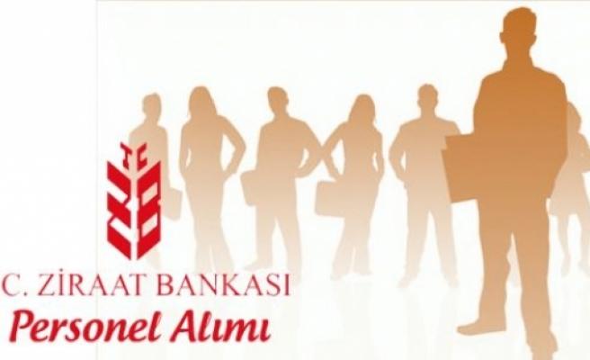 ZİRAAT BANKASI PERSONEL ALIYOR