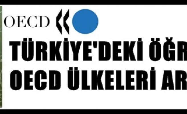 TÜRKİYEDEKİ ÖĞRETMENLER İLE OECD ÜLKELERİ ARASINDAKİ FARK