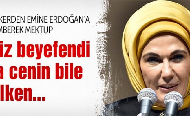 ÜNLÜ SPİKERDEN EMİNE ERDOĞAN'A ZEHİR ZEMBEREK MEKTUP !
