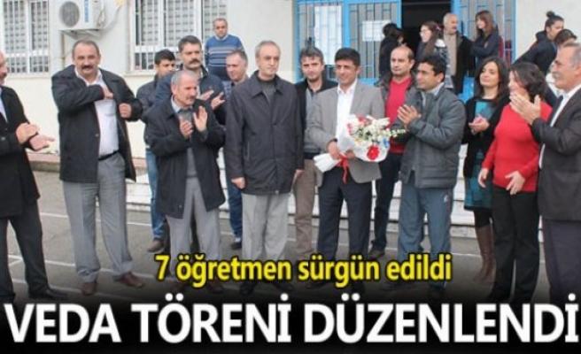 7 ÖĞRETMEN SÜRGÜN EDİLDİ ...