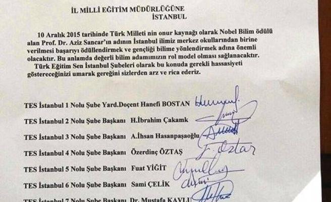 TÜRK EĞİTİM-SEN DEN ANLAMLI TEKLİF ...