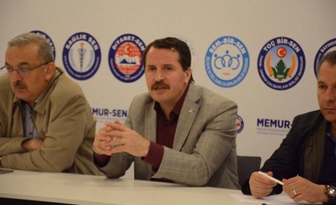 Memur-Sen 28'inci Genişletilmiş Başkanlar Kurulu Toplantısı Ankara'da yapıldı