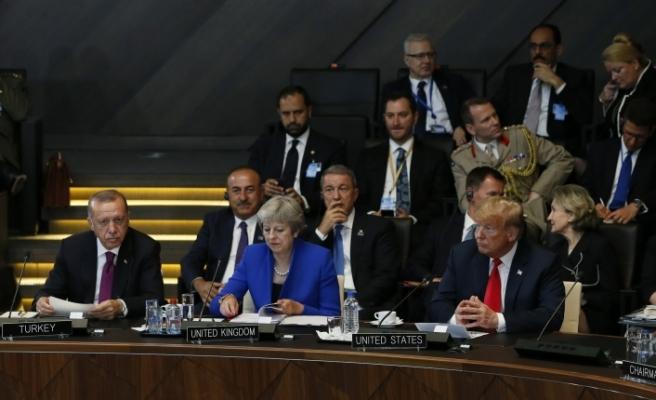 Başkan Erdoğan, NATO Liderler Zirvesine Katıldı