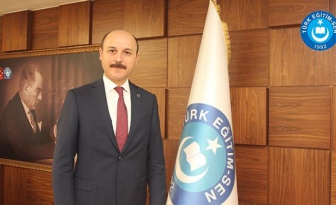 Türk Eğitim-Sen Genel Başkanı Talip Geylan Yeni Dönem Birleştirici Olsun