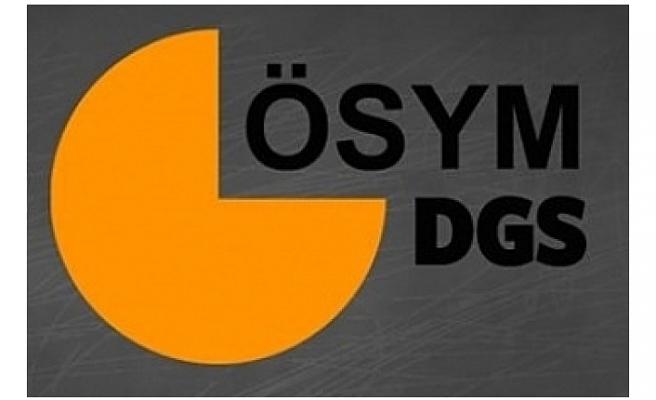 ÖSYM'den Flaş 2018 DGS Açıklaması