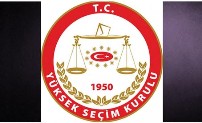 YSK Kararı Resmi Gazete' de Yayımlandı