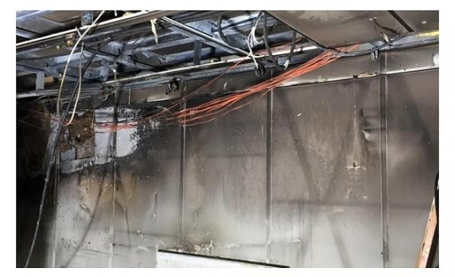 Şişli Meslek Lisesinde Yangın Çıktı