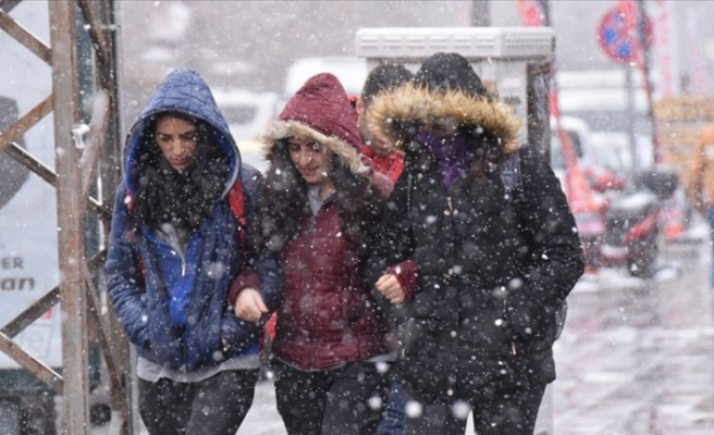 4 İlde Kar Yağışı Bekleniyor