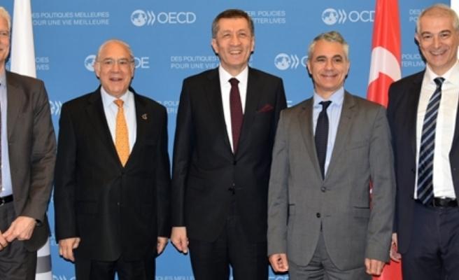 Milli Eğitim Bakanı Ziya Selçuk, Oecd'de 2023 Eğitim Vizyonu'nu Anlattı