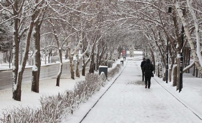 Doğu Anadolu Bölgesi'nde Karla Karışık Yağmur ve Kar Yağışı Etkili Olacak