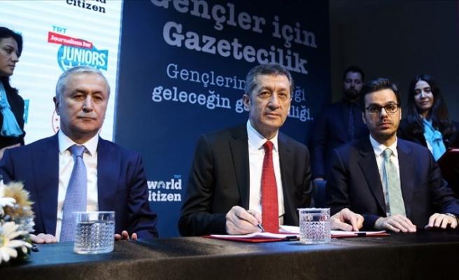 MEB-TRT İşbirliğiyle Lise Öğrencilerine Gazetecilik Eğitimleri Başlıyor