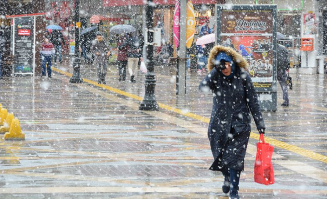 Yurtta Pek Çok Kentte Soğuk Hava ve Kar Yağışı Etkili Oluyor