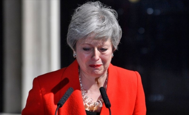 İngiltere Başbakanı Theresa May 7 Haziran'da İstifa Edecek