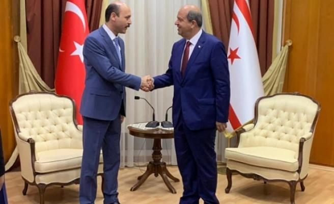 Genel Başkan Talip Geylan KKTC Başbakanı Ersin Tatar'ı Ziyaret Etti