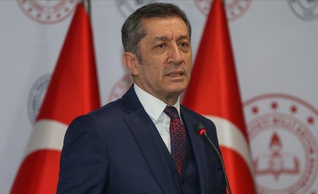 Milli Eğitim Bakanı Ziya Selçuk'tan Karne Mesajı