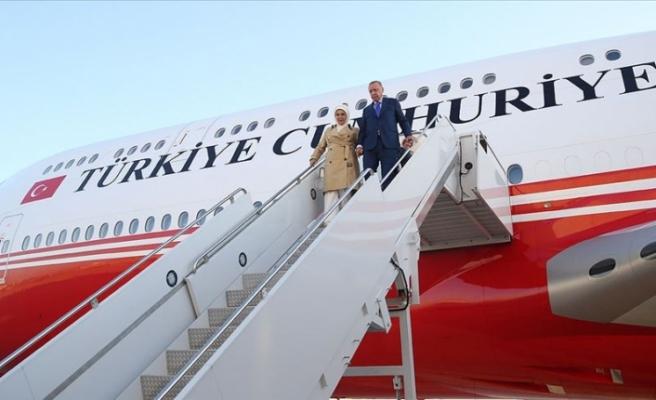 Cumhurbaşkanı Erdoğan, BM 74. Genel Kurulu Görüşmelerine Katılmak Üzere ABD'ye Geldi